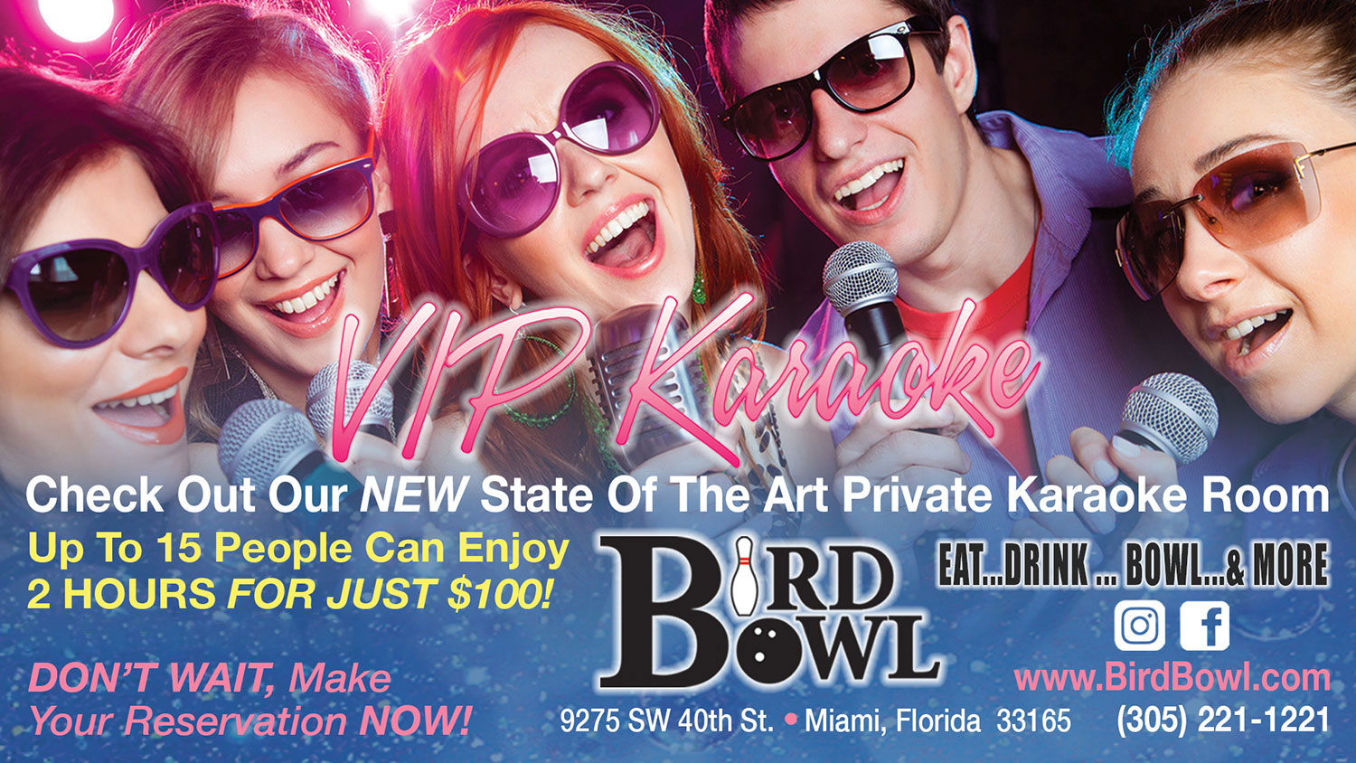 VIP Karaoke Packages