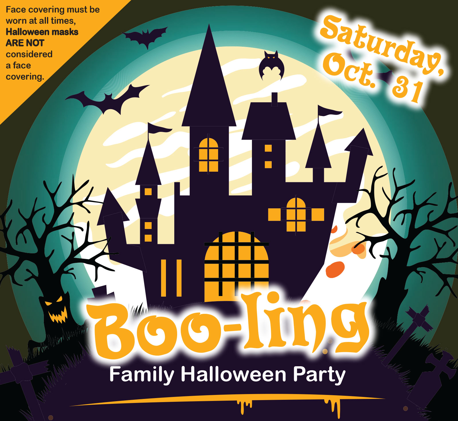 BOO-LING FAMILY HALLOWEEN PARTY